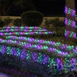 8 best home lighting images on pinterest home lighting homemade christmas world 150 multi coloured ribbon net lighting set indoors or outdoors multi function ic controller for controlling different lighting sequences aloadofball Images