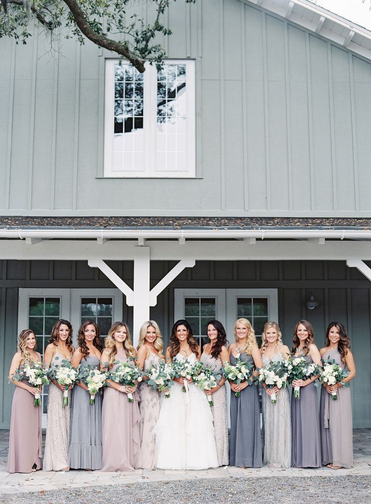 Photography: Lauren Peele http://www.laurenpeelephotography.com Wedding Dress: Hayley Paige www.jlmcouture.com/Hayley-Paige Bridesmaids' Dresses: Stardust Celebrations http://stardustcelebrations.com Groom's Attire: Vera Wang www.verawang.com/ View more: http://stylemepretty.com/vault/gallery/35844