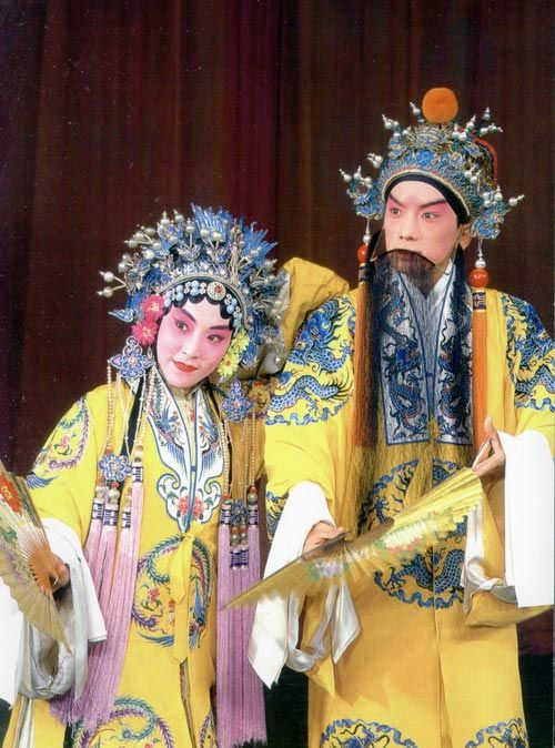 Consort Yang and Emperor Xuanzhong.