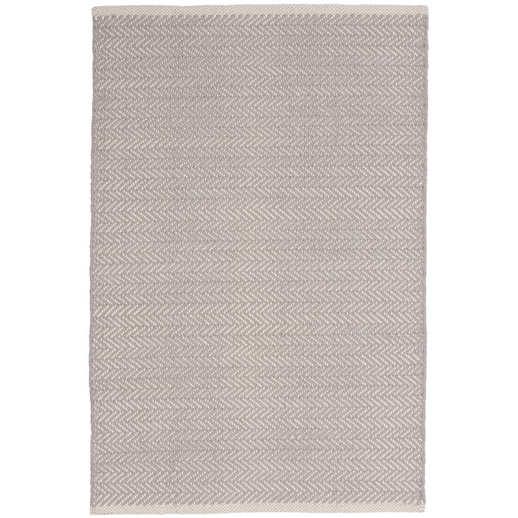 Test drive this rug in your space.Order a swatch by adding it to your cart.Our best-selling herringbone woven cotton rugs just got even better! In a goes-with-anything subtle grey hue, this classic pattern is the perfect way to perk up bedrooms, hallways, stairs, and more.   Made to coordinate with  dove grey , duvet covers, sheet sets, shams, pillowcases, decorative pillows, and throws from Pine Cone Hill