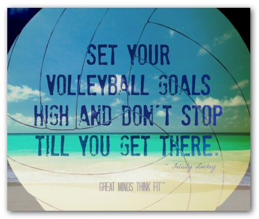 Motivational Team Quotes Volleyball: 25+ Best Inspirational Volleyball Quotes On Pinterest