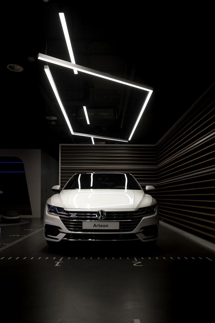 mode:lina:tm: Designs a New Volkswagen Showroom for Polish Market - Design Milk