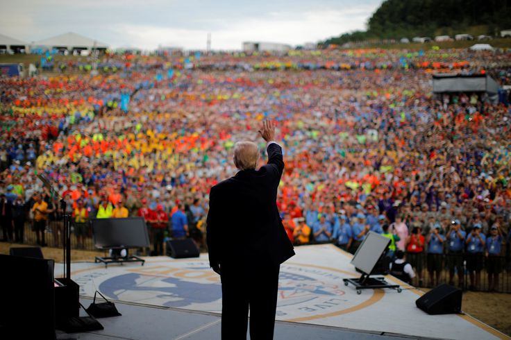Trump's speech at the Boy Scouts' national jamboree was so bad, parents began to pull their sons out of the organization. During the speech, he attacked Barack Obama, Hillary Clinton, dissenting Republicans, and the news media. For his entirely inappropriate speech, Trump refuses to apologize, according to Press Secretary Sarah Huckabee Sanders.   JOIN THIS …