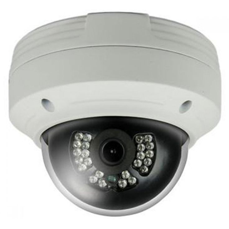 Dvrunlimited DVR-27-M0020 4 Megapixel Outdoor Infrared IP Dome Camera 2.8mm Fixed Lens
