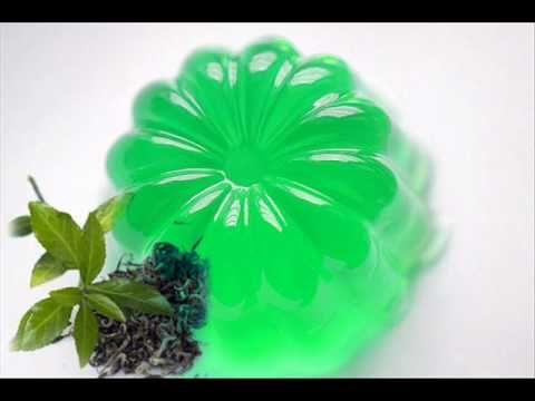 Gelatin and Green tea Face Peel mask