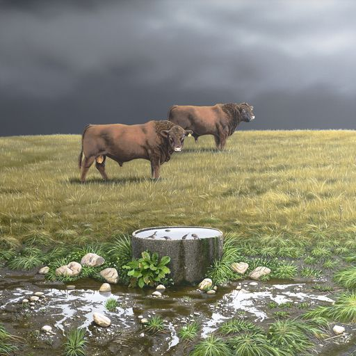 The Trickle Down Effect....artist Peter Geen