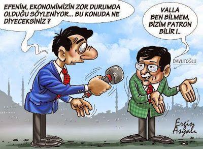 Siyasi Karikatürler: Ekonominin durumu - Ergin Asyalı