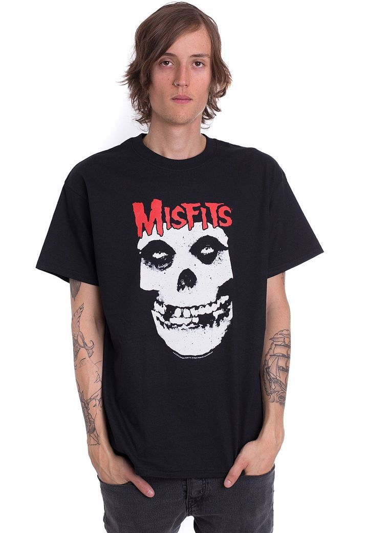 Order Misfits - Red Logo Skull - T-Shirt by Misfits for £14.99 (9/27/2017) at the Impericon UK online shop in great quality.