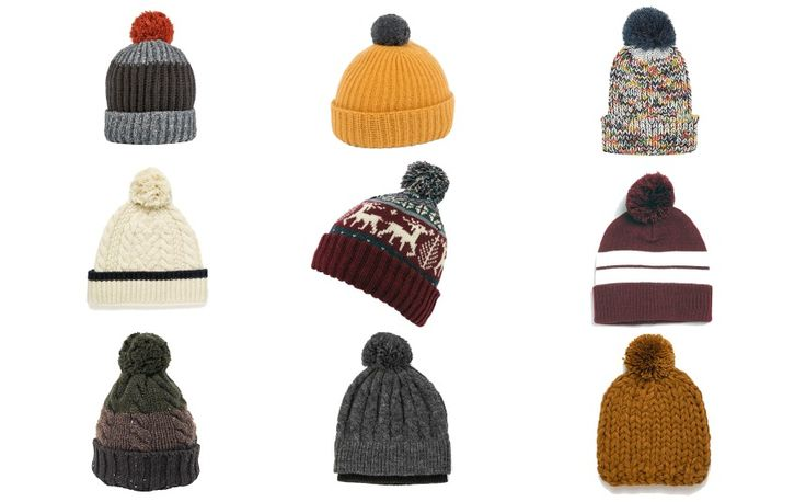 The humble knitted bobble hat is back in vogue – but which one should you   choose? Jonathan Wells rounds up ten of the best