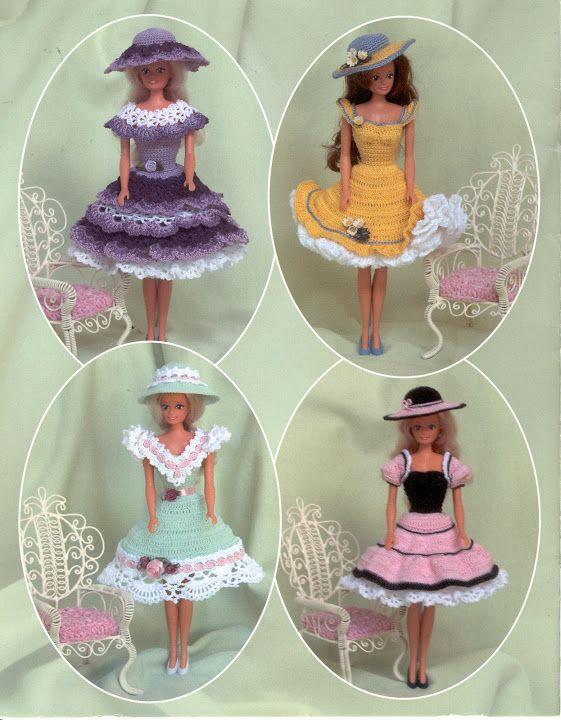 Free Copy of Crochet Pattern - Summertime Fashion Doll Wardrobe