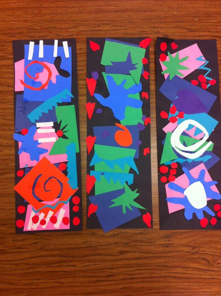 Drip, Drip, Splatter Splash- Matisse Cutouts
