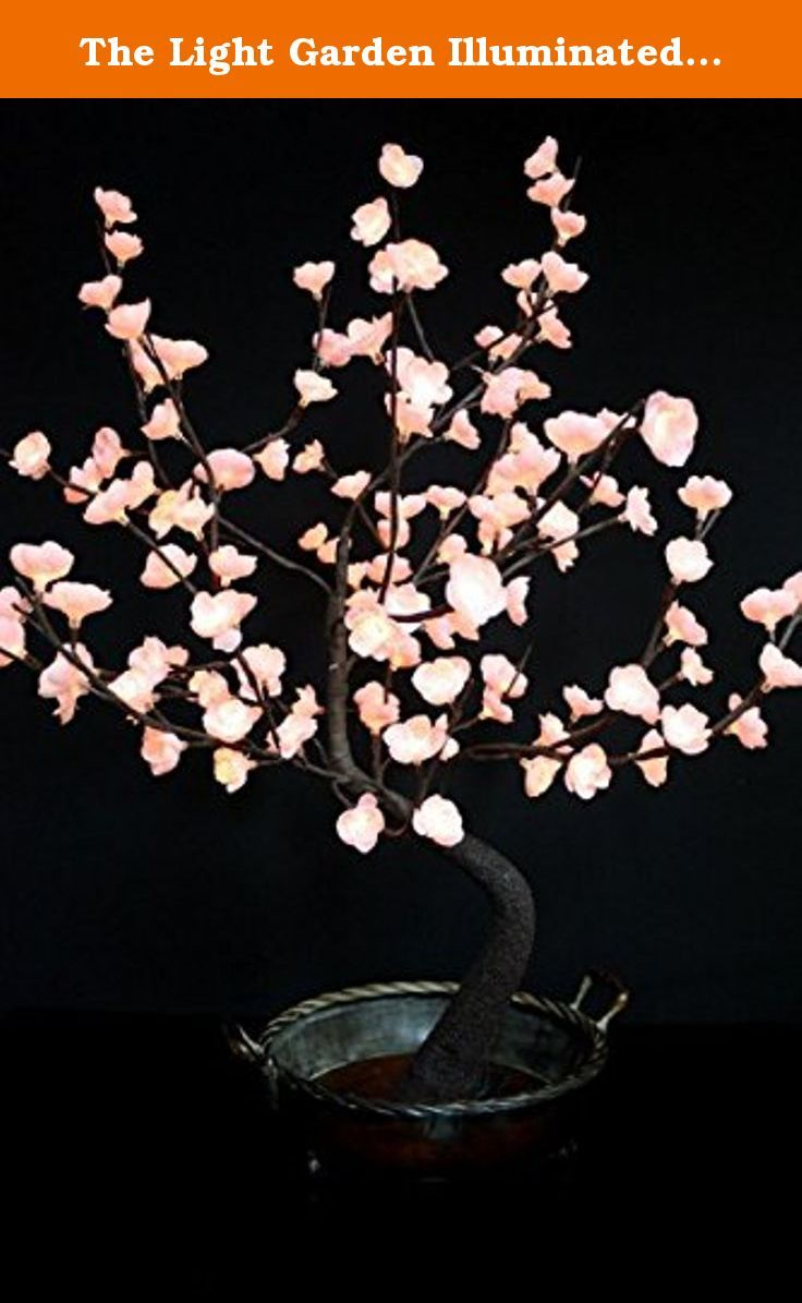 The Light Garden Illuminated Bonsai Tree with Flowers in Decorative Bowl BNSGR128, 128 Lights (Pink). The Light Garden BNSWT128 Bonsai Tree with 128 Lights is ideal in residential, retail, corporate or even special event locations. This beautiful floral creation of a Bonsai Tree with white flowers will visually enhance your living space, showroom or office environment. Combine with your accessories to create dramatic and unique floral displays. These lights are easily incorporated into...