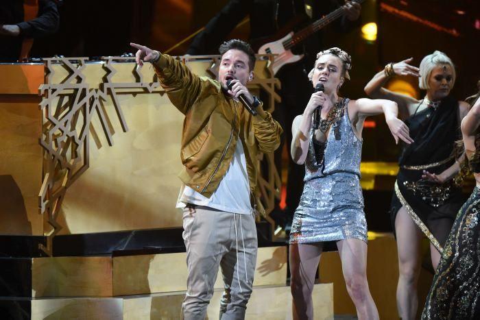 """El cantante antioqueño de música urbana ganó el galardón gracias a su canción """"Ay Vamos"""" del álbum La Familia B Sides."""