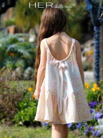 HER Little world, Patron de couture pour vêtement enfant, robe Radieuse