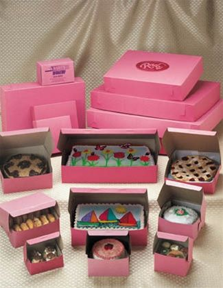 foodservicefiresale 8 x 8 x 3 pink box 250 for $62
