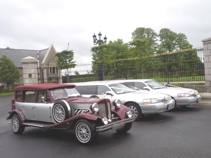 Wine & Silver Beauford Wedding Car http://www.kpcd.ie/wedding-cars.html Silver Wedding Limousines Killashee House Hotel, Naas, Kildare http://www.kpcd.ie