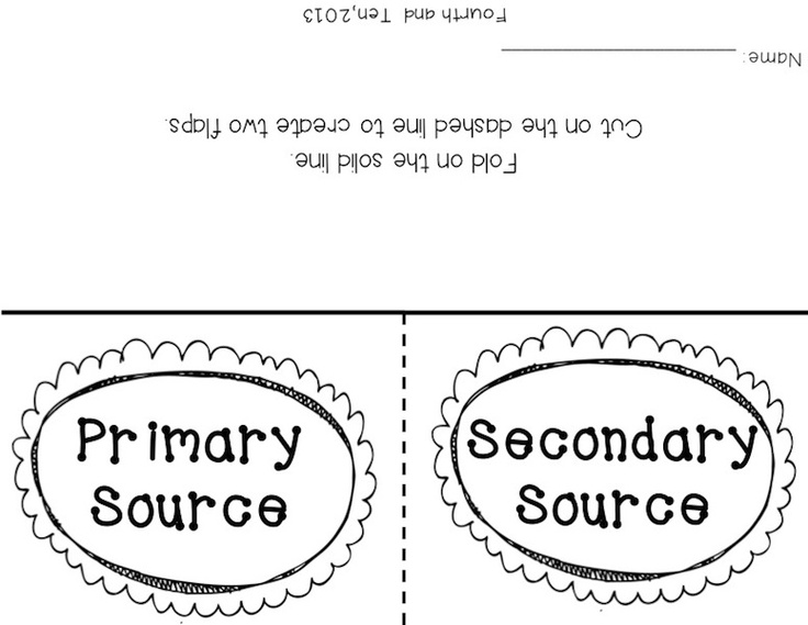 14 best primary vs secondary sources images on pinterest classroom next week my kid dos will be taking a test on hodgepodge of skills in social studies i m talking prim fandeluxe Gallery