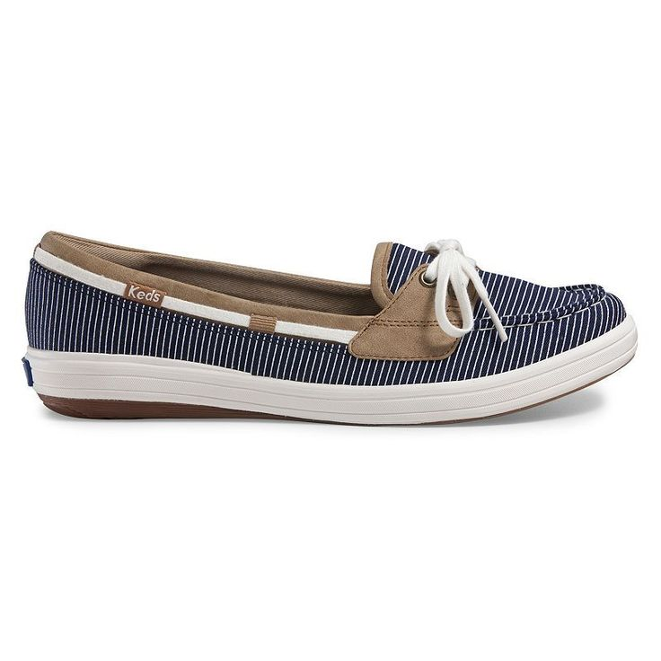 Keds Glimmer Women's Boat Shoes, Size: medium (6), Blue (Navy)