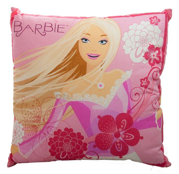 Barbie Cushion from Kids Bedding Dreams #girls #bedroom