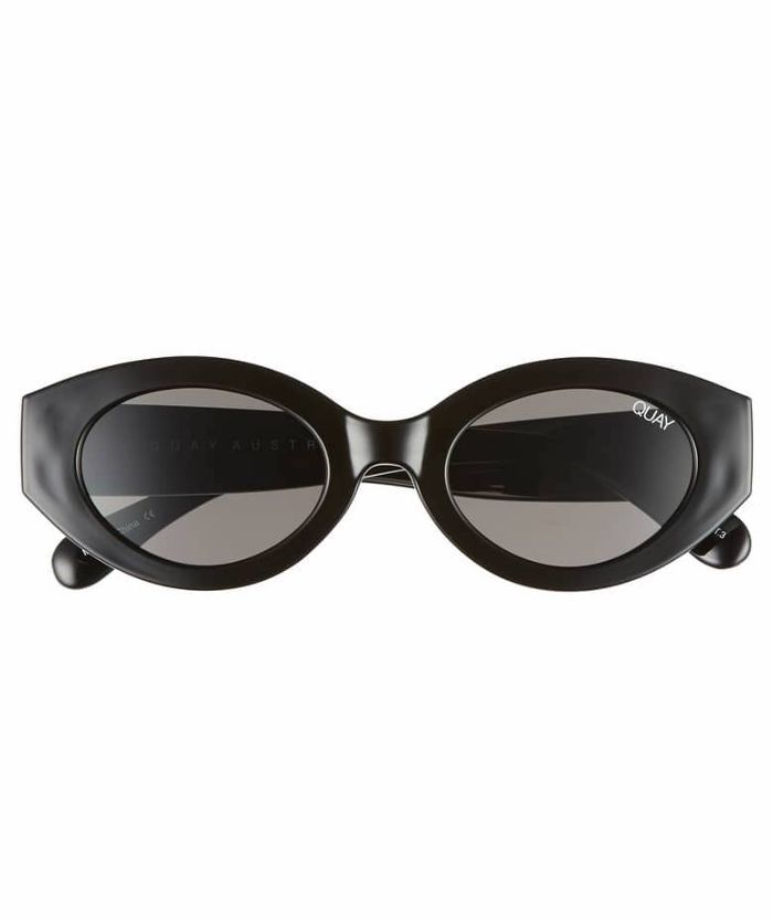 e963c66d65b32 Quay Australia See Me Smile 50mm Cat Eye Sunglasses