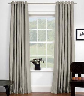 Drapery: Grommet - Custom Window Treatments - Window Treatments - Room Board