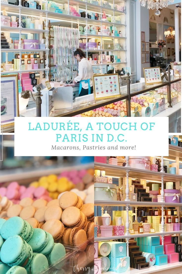 Ladurée, A Touch of Paris in DC Washington dc travel