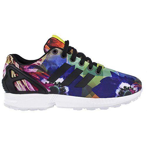 ZX Flux, Sneakers Basses Homme, Gris (Aluminum/Aluminum/Running White), 49 1/3 EUadidas