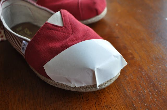 How to fix my 3 pairs of Toms with holes! I planned on just gluing, but this looks easier!!