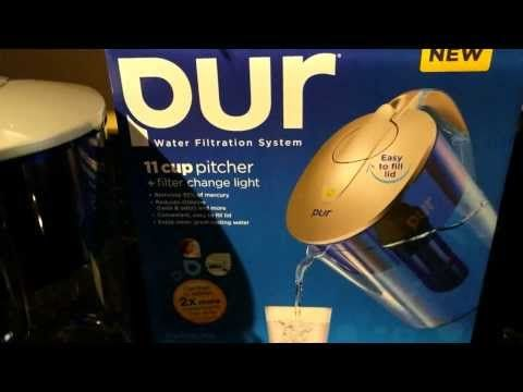 Influenster: Pur Water Pitcher Vox Box - YouTube