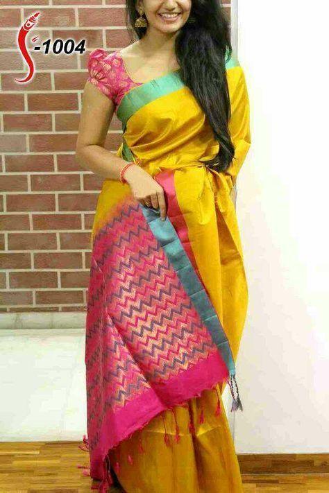 Zarnasilk saree with blouse