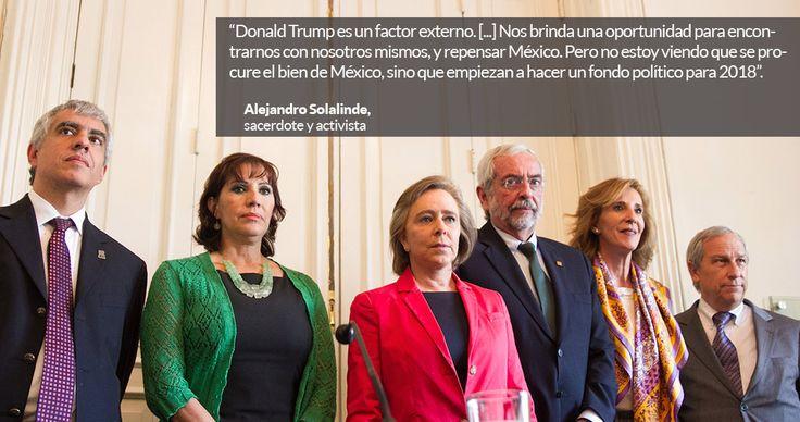 El Presidente Enrique Peña Nieto, sin pedirlo, recibirá un espaldarazo este domingo por parte de las oenegés, acusó Solalinde.