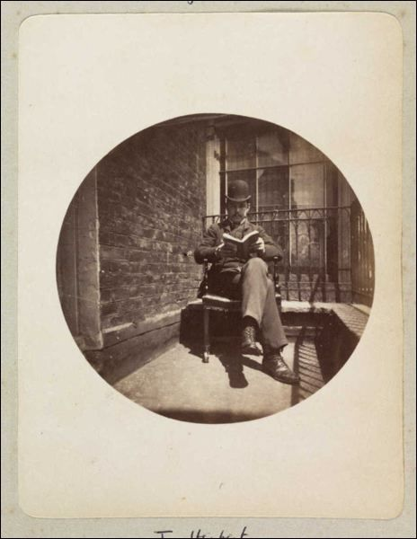Kodak Man Reading, 1880-1890