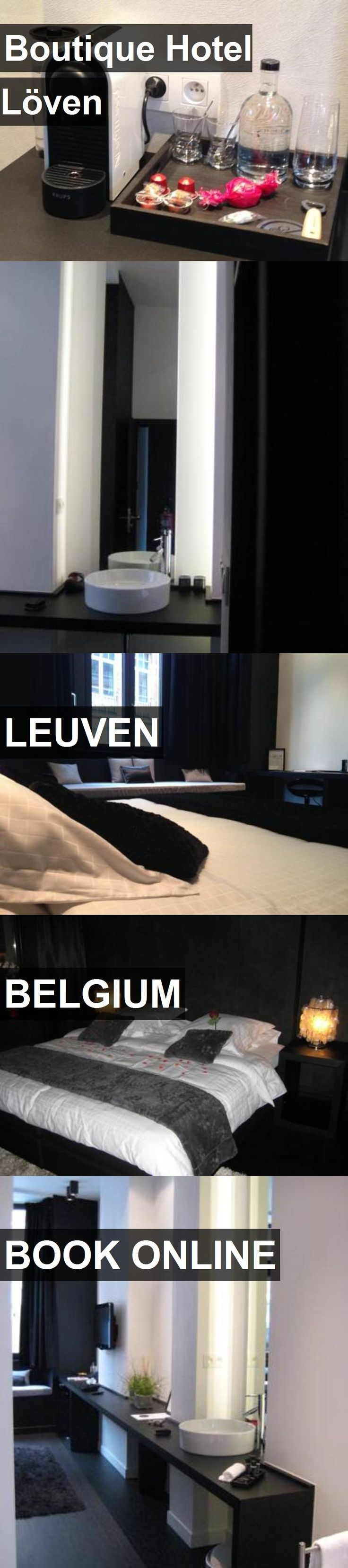 Boutique Hotel Löven in LEUVEN, Belgium. For more information, photos, reviews and best prices please follow the link. #Belgium #LEUVEN #travel #vacation #hotel