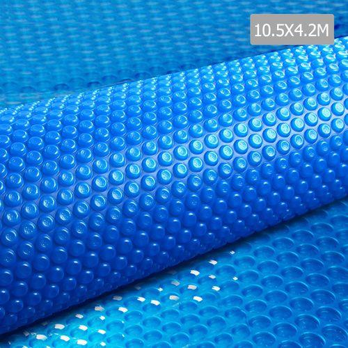 Solar Swimming Pool Cover Bubble Blanket 10.5m X 4.2m