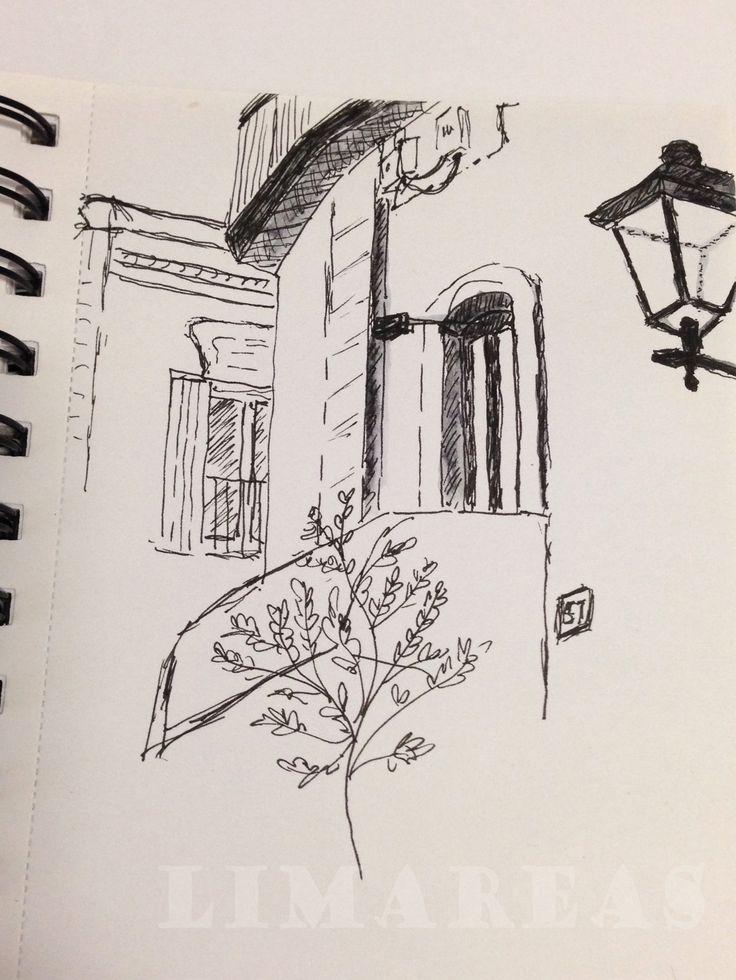 Taormina, ink