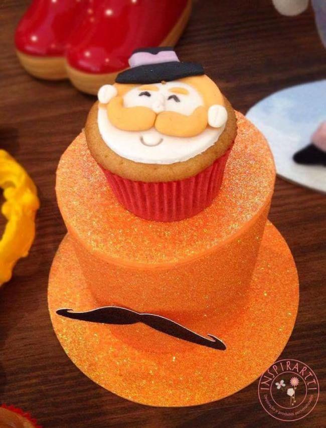 cupcake festa circo do bita