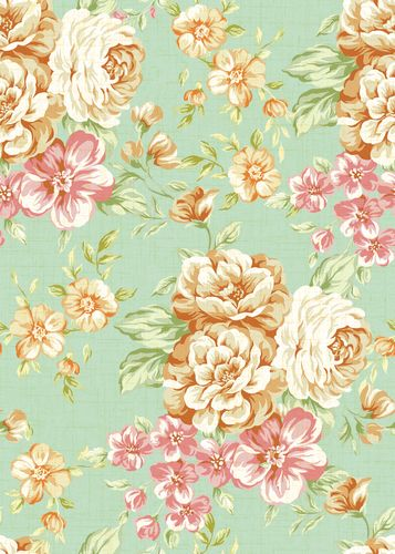 vintage floral print background tumblr - Google Search
