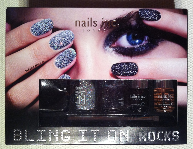 Bling It On Rocks kit #nailsinc