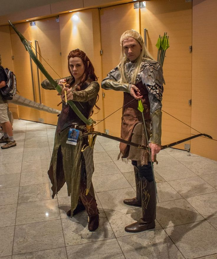 Legolas Tauriel and their son by . I dont like