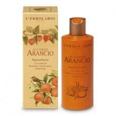 Accordo Arancio illatú tusfürdő Mandarin, keserű narancs és lampionvirág-kivonattal - Rendeld meg online! Parfüm és kozmetikum család a Lerbolario naturkozmetikumoktól