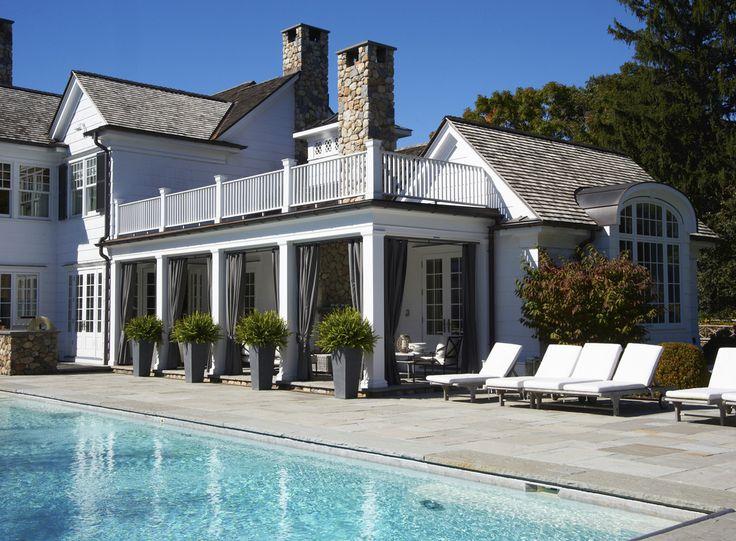 New Cannan home   via Lynn Morgan Design