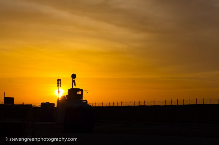 Sunrise at the FOB