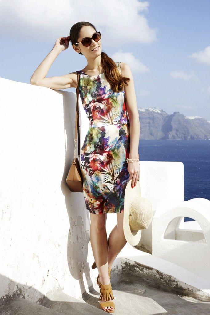 #Inspiration #SOMMERKLEIDER! #sommermode #sommer #kleid #reischmann #santorini #dress #womenswear #sommer2016