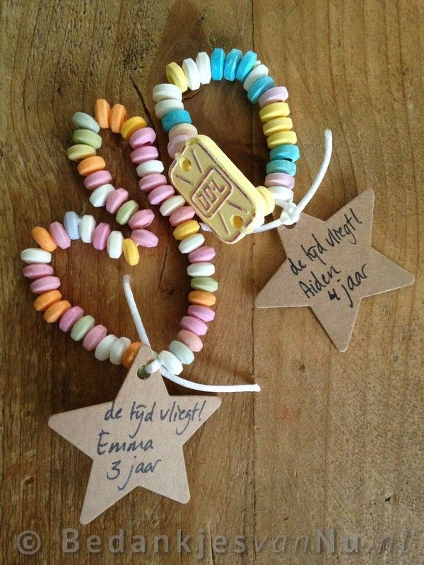Cute candy necklace DIY