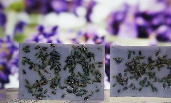 FREE SHIPPING Homemade Soap  Lavender Soap  by AliceInWonderSpa