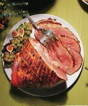 Maple-Glazed Ham | Get the recipe for Maple-Glazed Ham.