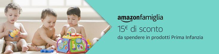 Superisparmio's Post Amazon Famiglia  Per lavvio dellAmazon Prime Day 2017 Amazon ci regala uno sconto di 15.00 sui prodotti Prima Infanzia con una spesa minima di 60! Per poter usufruire di questa promozione bisogna partecipare al servizio Amazon Famiglia.  Il coupon da usare è: FAMIGLIA   http://ift.tt/2tUclMI