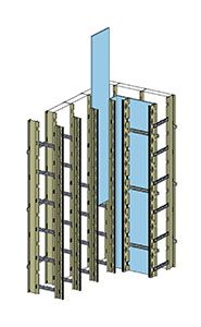 Tf Forming Systems Vertical Insulated Concrete Forms Icfs