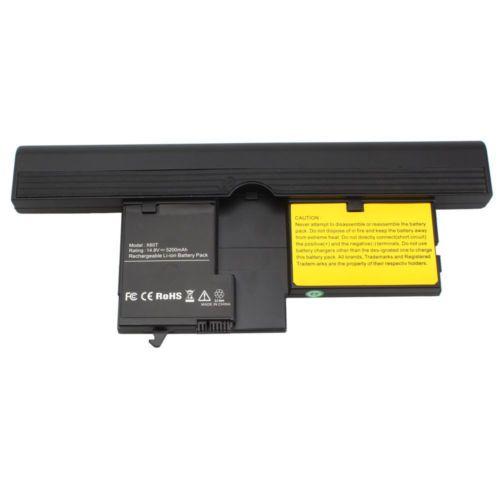5200mAh Battery For IBM Lenovo ThinkPad X60 6364 X61 7762 Tablet PC 40Y8314 CA
