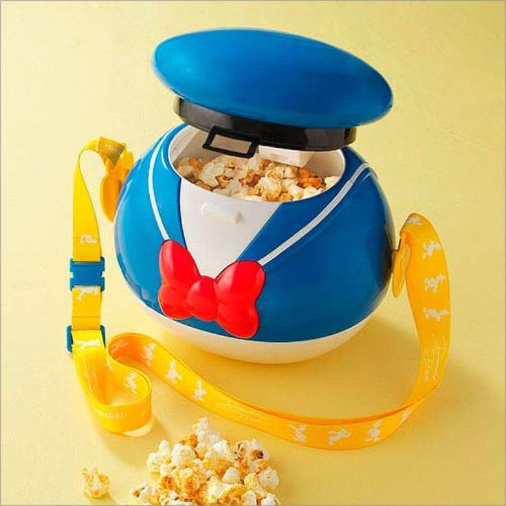 NEW! Tokyo Disney Resort 2015 Donald Duck Popcorn Bucket from Japan
